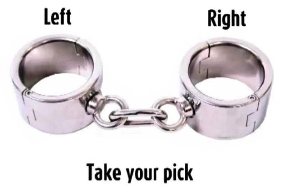 Take your pick, left or right