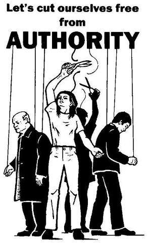 Let's cut ourselves free from authority