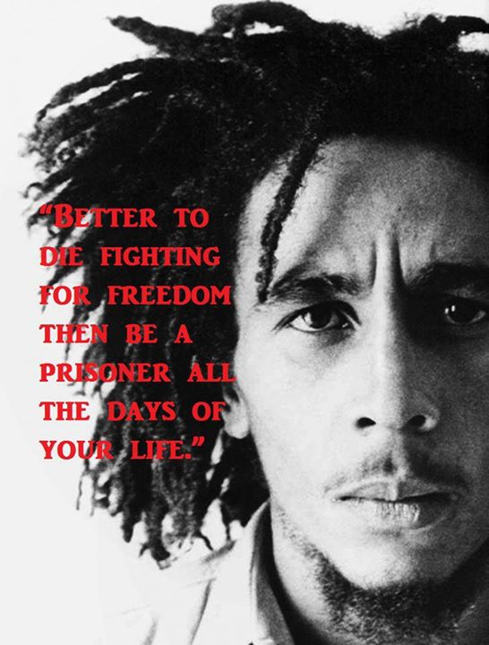 Better to die fighting for freedom