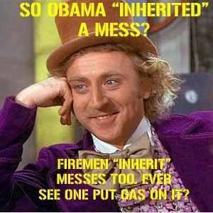 So Obama inherited a mess?
