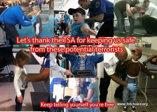 let's thank tsa for keeping us safe