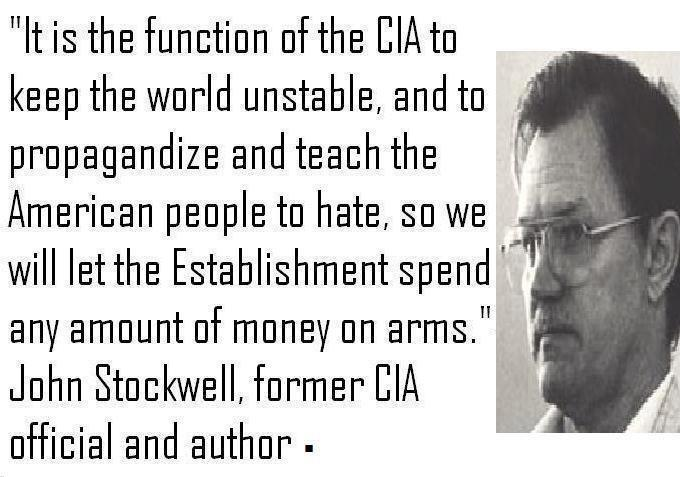 John Stockwell the function of the CIA
