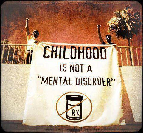 Childhood is not a mental disorder