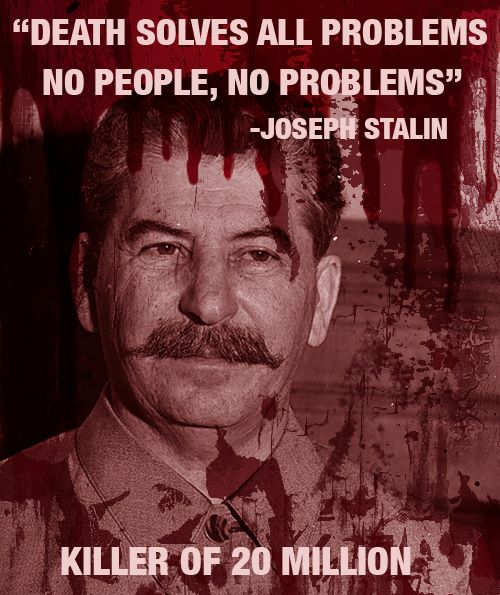 Josephy Stalin Death solves all problems