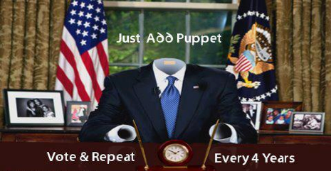 Just add puppet