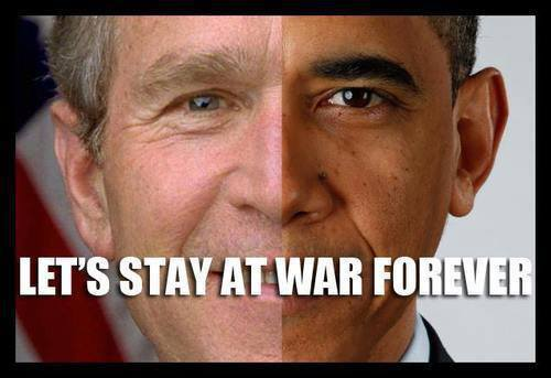 Let's stay at war forever