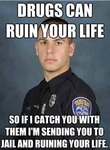 Drugs can ruin your life