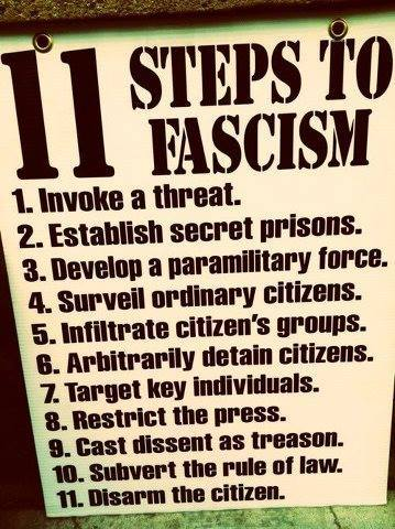 11 steps to fascism