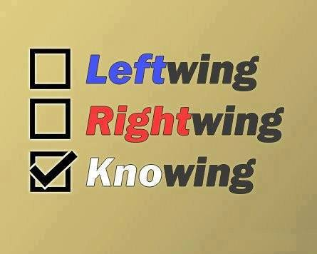 Left Wing Right Wing Knowing