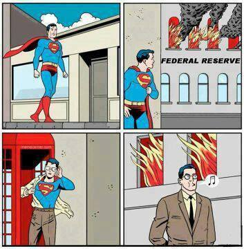 Superman and the federal reserve