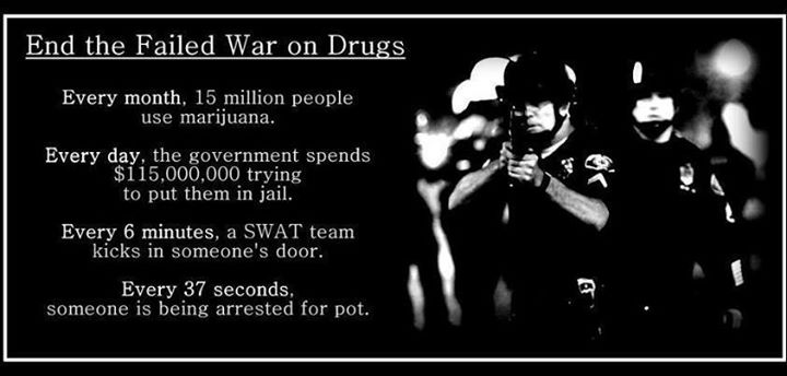 End the failed war on drugs