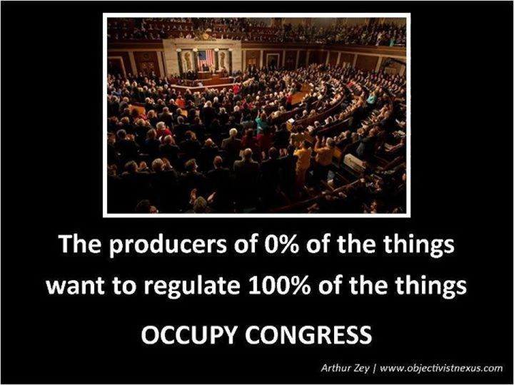 the producers of nothing want to regulate everything