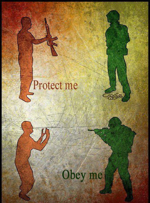 protect me obey me