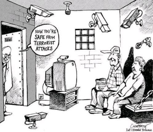 Now your'e safe from terrorist attacks