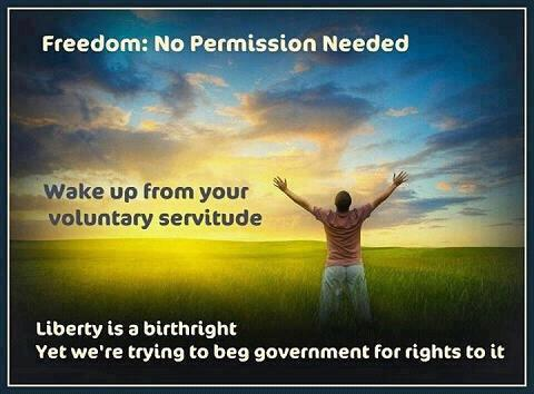 Freedom no permission needed
