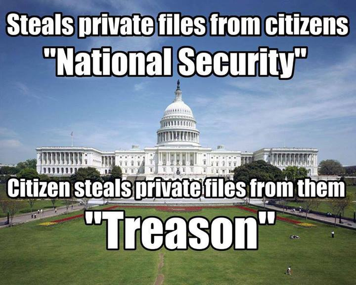 steals private files from citizens