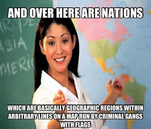 and over here are nations