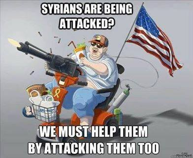 syrians are being attacked?