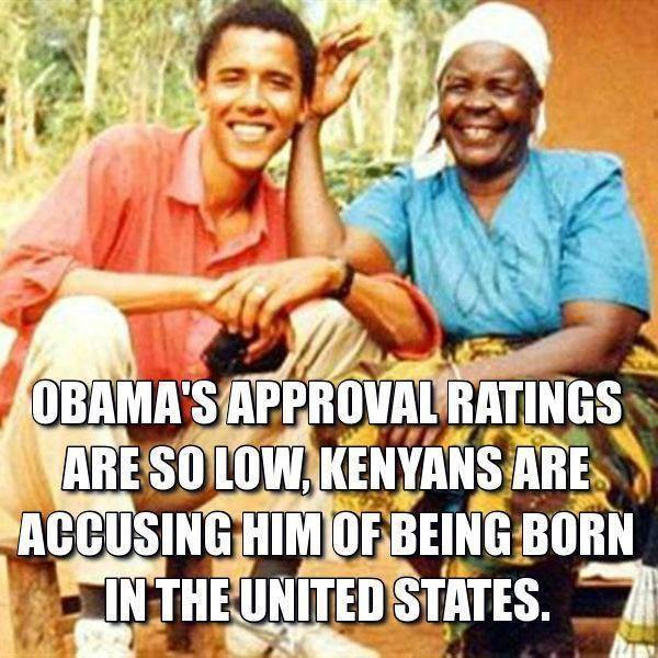 Obama's approval ratings are so low