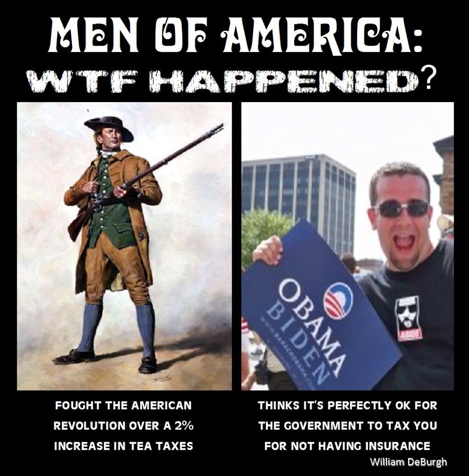 Men of america wtf happened?