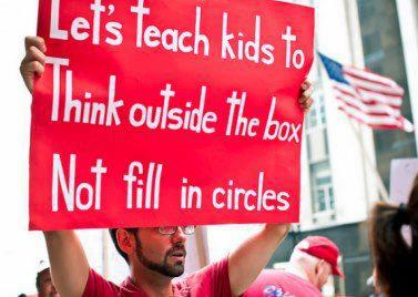 Let's teach kids to think outside the box