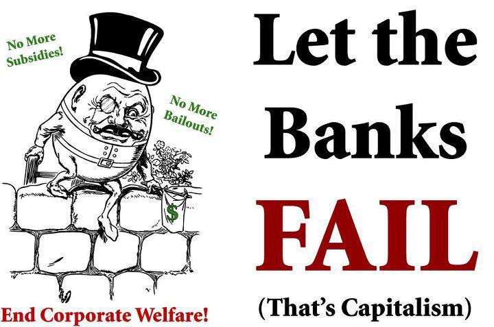 Let banks fail