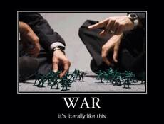 War it's literally like this