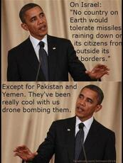 No country on earth would tolerate missiles raining down on its citizens from outside its borders