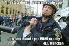 The state doesn't just want you to obey it wants to make you want to obey